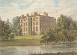 South East View of Wormleybury House, Herts